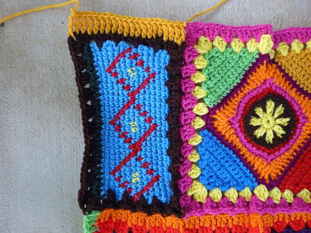 double crochet fill stitches