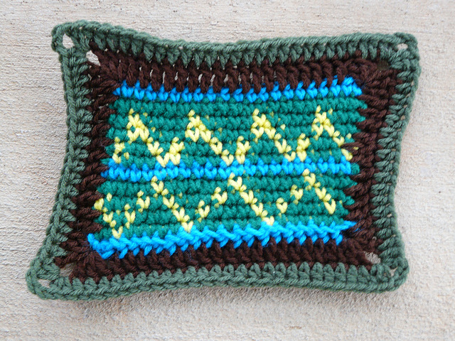 crochet rectangle