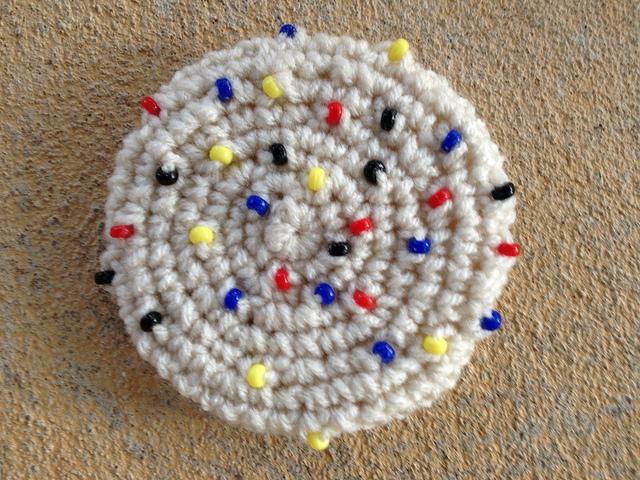 Mondrian's crochet cookie
