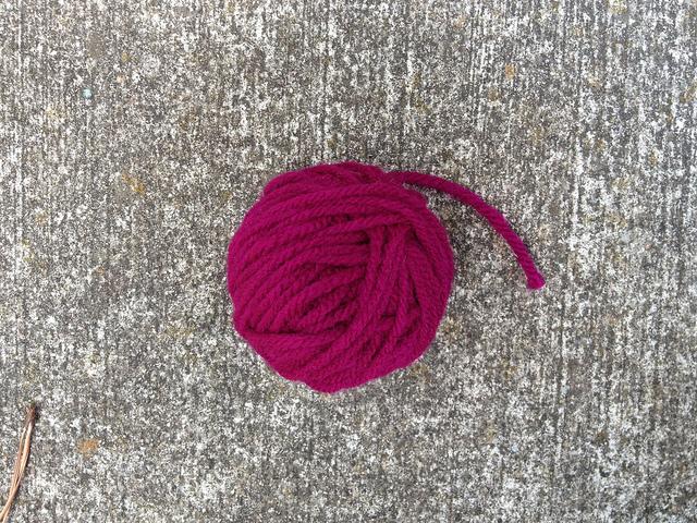 A scrap of yarn