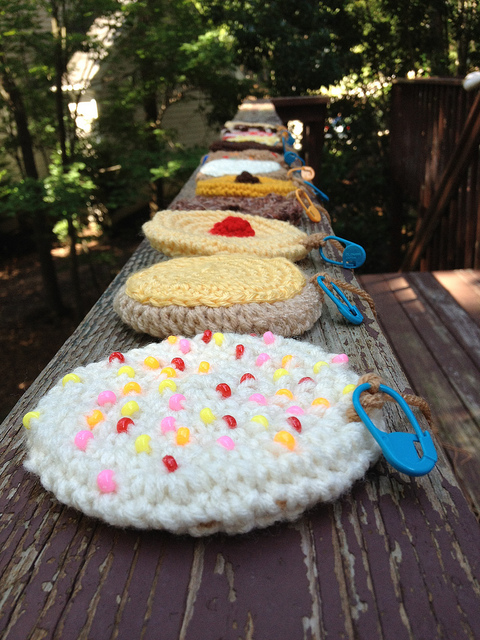 crochet cookies for a crochet blanket