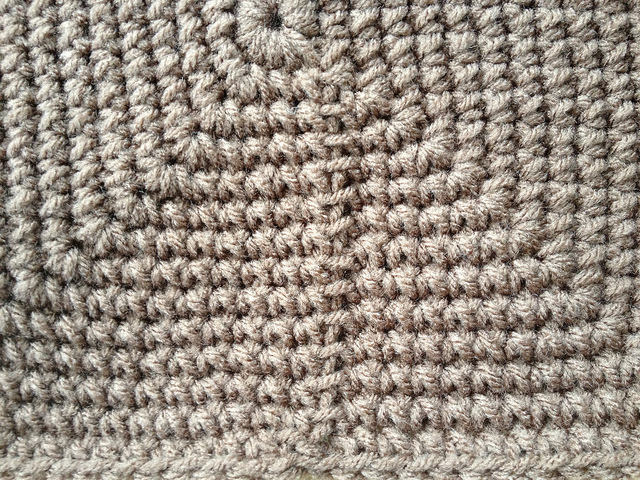 crochet seam