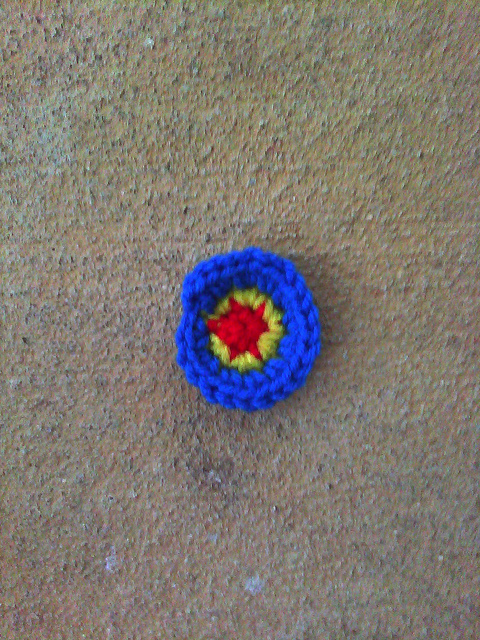 Round 3 of a crochet hyperbolic plane