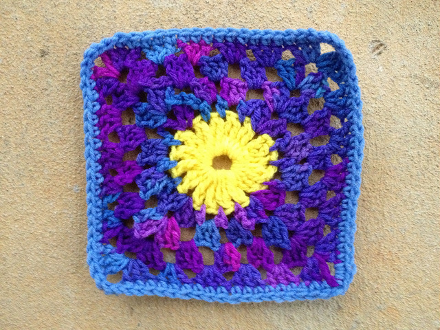 Crochet Square 54 from 101 Crochet Squares