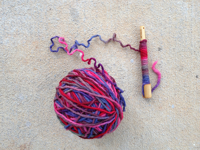 Wraps Per Inch tool and yarn of mystery
