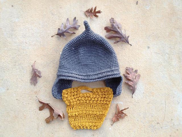 crochetbug, crochet beard, crochet assyrian beard, textured crochet, crochet helment, crochet hat, crochet cap, crochet beanie, crochet Assyrian helmet