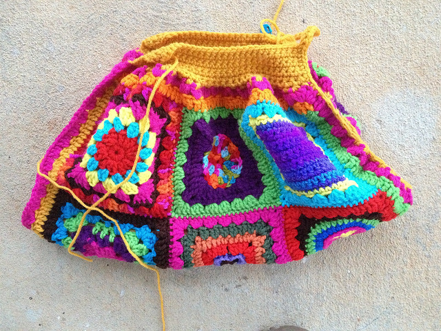 crochet fat bag