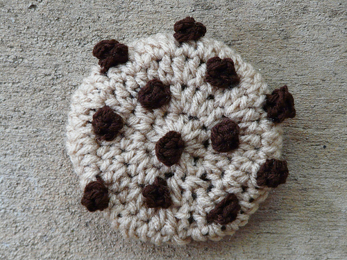 crochet cookie chocolate chip