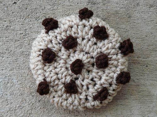 crochet cookie chocolate chip