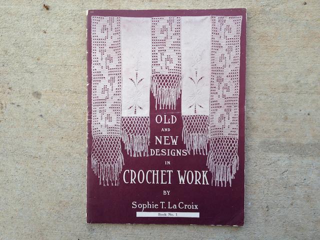 a vintage crochet pamphlet