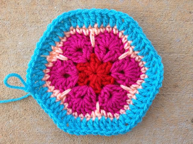 crochet flower crochet hexagon