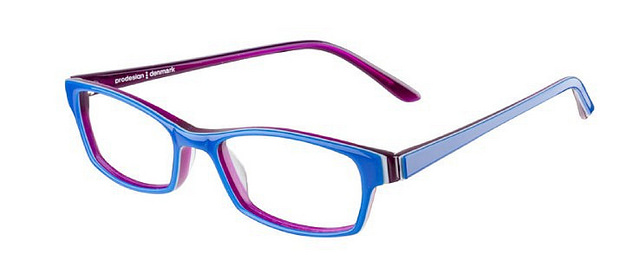 Blue with purple glasses I was contemplating