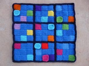 I try to solve the crochet sudoku