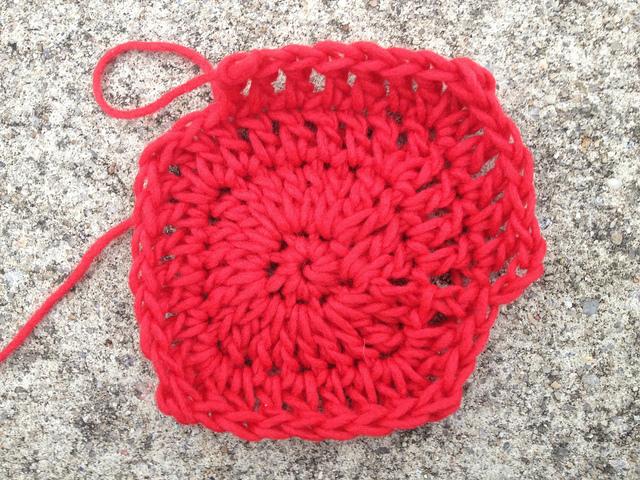 crochetbug, crochet square, crochet potholder, josef albers, crochet rainbow
