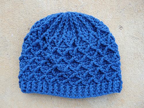 lattice hat Archives - Crochetbug