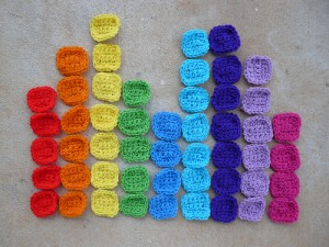 More squares to be used in solving the crochet sudoku