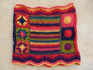 One side of the Fantascot before blocking