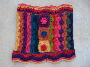 The other side of the Fantascot after blocking