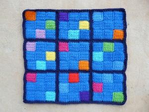 The sixth crochet sudoku