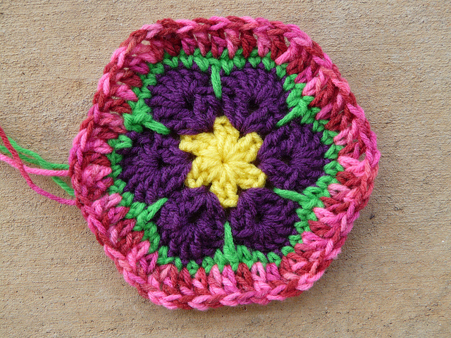 crochet flower crochet hexagon