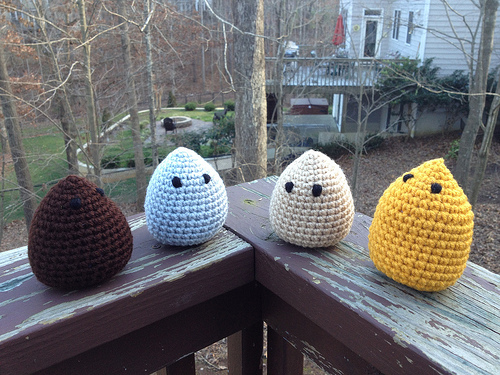 Four pocket animals and forest friends-to-be
