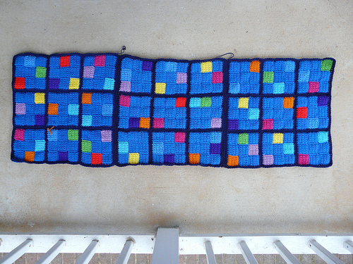 crochetbug, crochet squares, crochet blocks, crochet sudoku, crochet puzzle, crochet blanket, crochet throw, crochet afghan