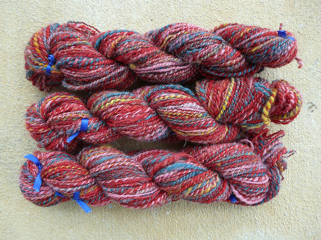 expensive multicolor yarn