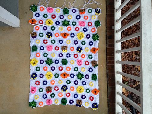 crochetbug, crochet hexagons, crochet blanket, crochet afghan, crochet throw, crochet animals, crochet flowers