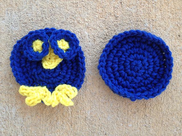 bird crochet hexagons