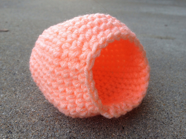 crochet panoramic sugar egg