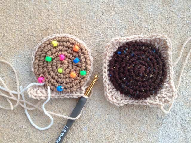 crochet cookie crochet squares, crochetbug, crochet circles, crochet cookies, amigurumi cookies, crochet sudoku, crochet puzzle