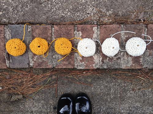 crochet cookies, crochetbug, amigurumi cookies, crochet circles, crochet throw, crochet sudoku, crochet puzzle