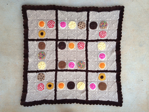 crochet cookie crochet sudoku