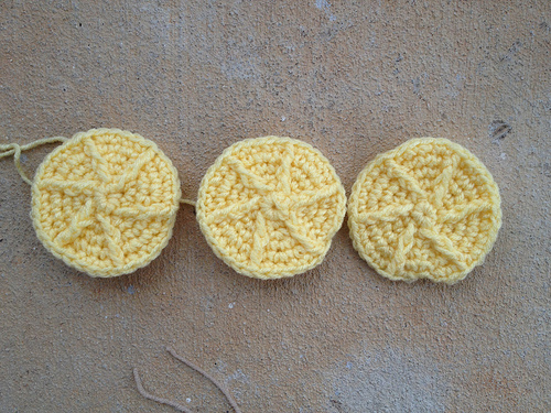 Three crochet lemonades
