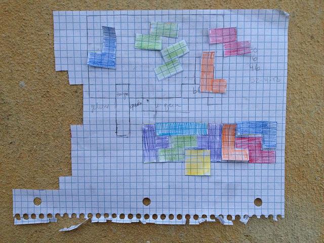 April 14: I devise a tool for arranging tetrominos