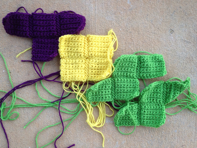 crochet tetrominos TOSS