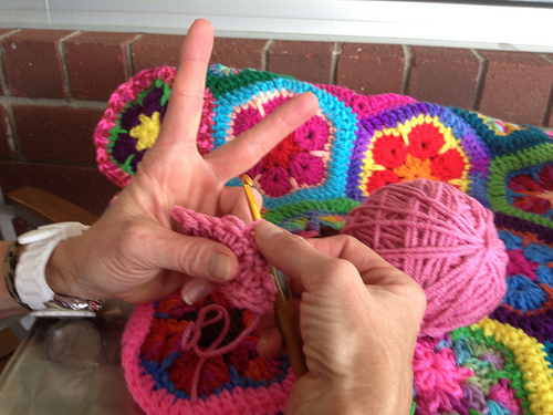 Peace, love, and crochet!