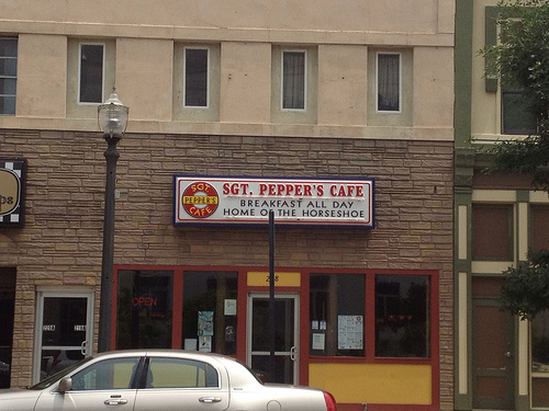 Sgt. Pepper's Cafe, edwardsville, madison county, illinois