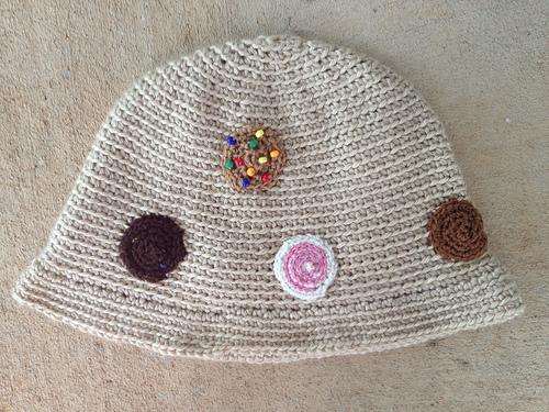 crochetbug, crochet cloche, crochet chemo cap, crochet cookies, crochet circles