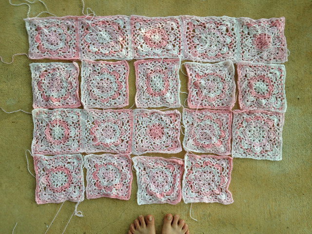 joining crochet squares