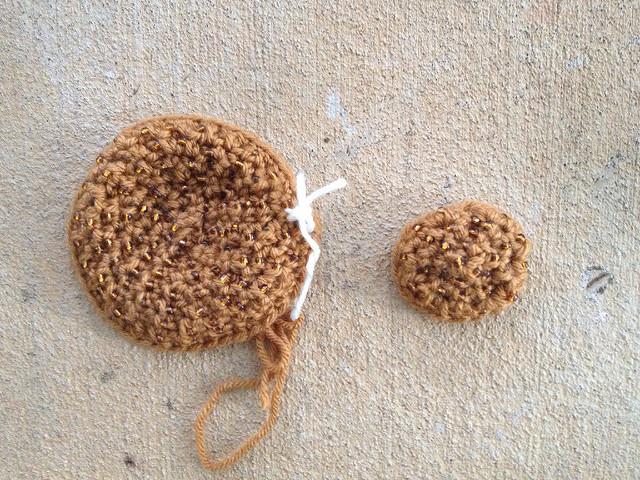 snickerdoodle crochet cookie