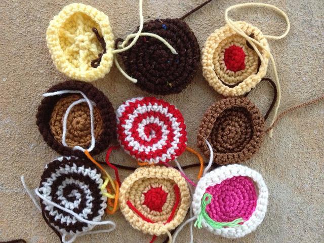 medium crochet cookies
