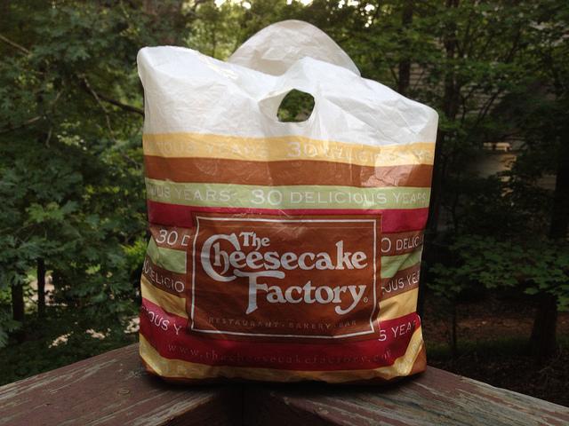 cheesecake factory bag of crochet cookies