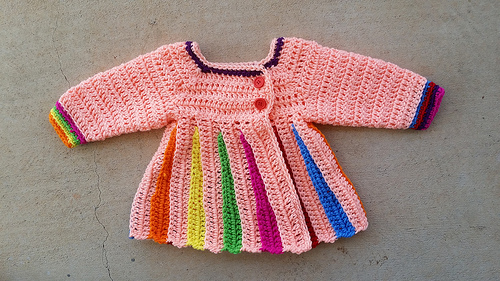 Eloise crochet sweater