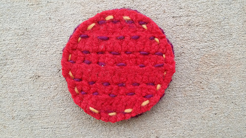 crochet furniture coaster