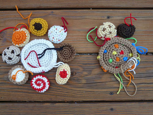more crochet cookies