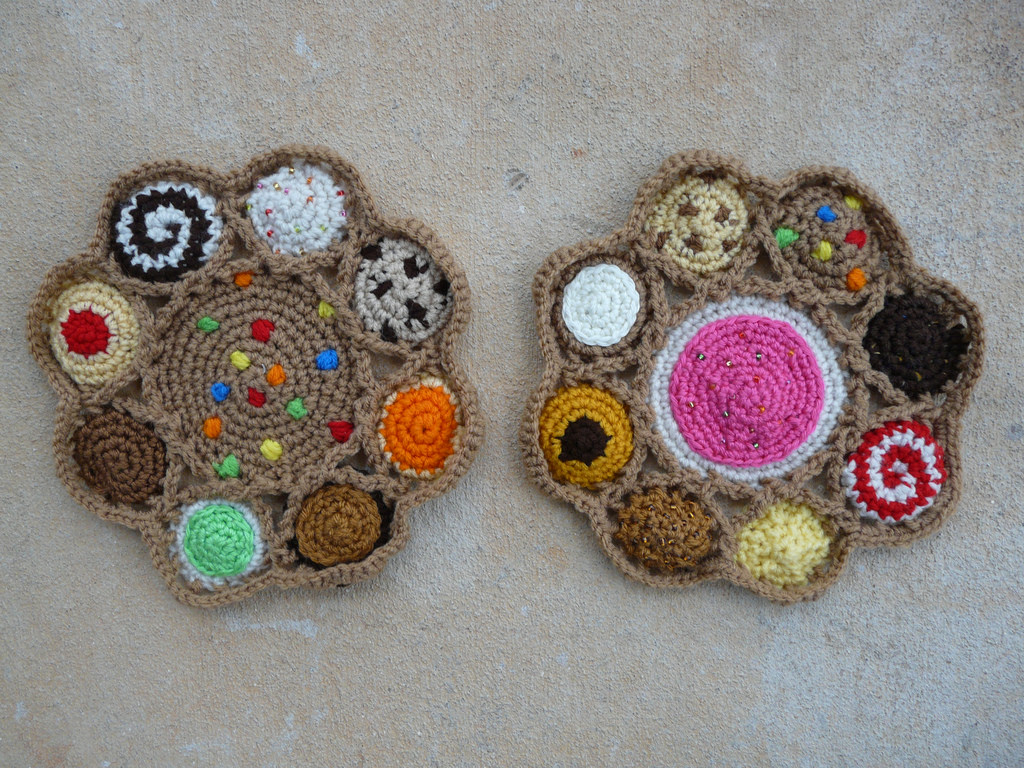 crochet cookies crochet bag
