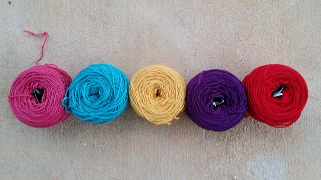 wool yarn for crochet flowers