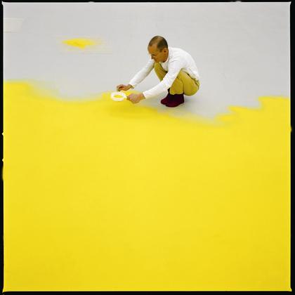 Wolfgang Laib yellow pollen