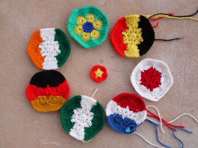 crochet hexagons crochet pentagon crochet soccer ball